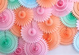 paper fans how to make a paper fan photo backdrop for your next party evite