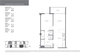 100 the ivy miami floor plans axis brickell north tower