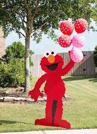 Elmo Party Decorations Walmart Best 25 Elmo Party Supplies Ideas On Pinterest Sesame Street