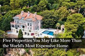 World S Most Expensive House The Five Most Expensive Homes For Sale In The U S Mansion Global