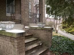 Brick Stairs Design Home Design Attractive Modern Design Bricks Front Porch Steps