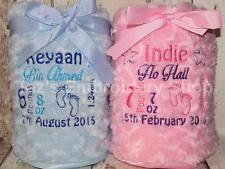 Engraved Blankets Baby Personalised Baby Blankets Ebay