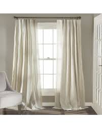White Cotton Curtains Holiday Special Lush Decor Rosalie Curtain Panel Pair Ivory
