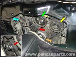 porsche boxster drive belt replacement 986 987 1997 08