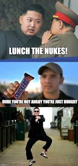 Kim Jong Un Snickers Meme - image tagged in memes kim jong un snickers imgflip