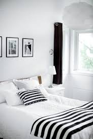Black And White Bedroom Enchanting Decoration Black And White
