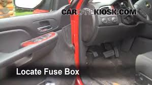 2007 Chevy Impala Interior Interior Fuse Box Location 2007 2013 Chevrolet Avalanche 2007