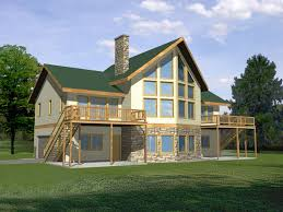 small contemporary house plans hillside house plans with garage underneath modern lakefront small