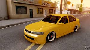 opel yellow opel vectra b for gta san andreas