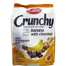 cuisine sante sante granola banana with chocolate ranjaeleng