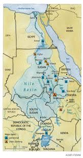 Egypt On Map Egypt No Longer Owns The Nile By Habib Ayeb Le Monde