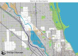 12th ward chicago map map of building projects properties and businesses in 2nd ward