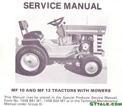massey mf10 mf12 service manual gttalk
