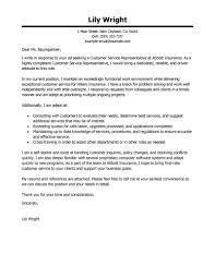 sample cover letter for customer care representative cover letter