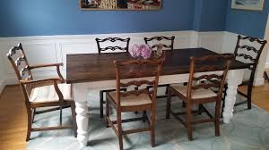 Ana White Dining Room Table by Ana White Husky Farmhouse Table Diy Projects