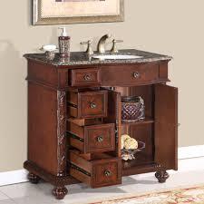 Single Bathroom Vanity Cabinets 36 U201d Perfecta Pa 139 Bathroom Vanity R Single Sink Cabinet English