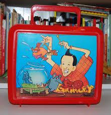 ed grimley lunchbox lost found vintage toys