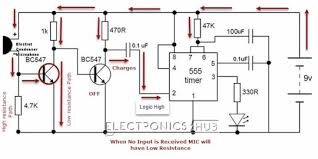 how to install clap on lights how to make simple clap switch circuit working circuits and