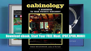read ebook cabinology a handbook to your private hideaway full