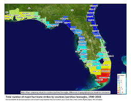 Lightning Strike Map Florida Hurricanes Hurricanes And Flooding