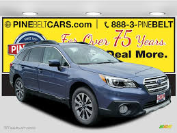 2017 Twilight Blue Metallic Subaru Outback 2 5i Limited 114781453