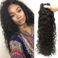 8a brazilian water wave virgin hair 4pcs lot natural curly sew in