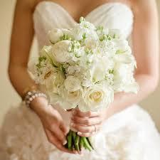 white bouquet all white wedding bouquets brides