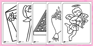 colouring pages valentines colouring