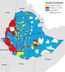 Age Of Consent Map Shrinking The Lymphatic Filariasis Map Of Ethiopia Reassessing