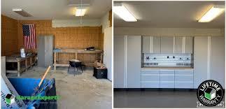 kitchen cabinets workshop residential workshop epoxy flooring and cabinet storage