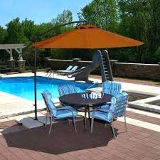 11 Ft Offset Patio Umbrella Unique 11 Ft Offset Patio Umbrella And Ft Octagonal Cantilever