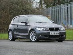 2008 bmw 1 series used grey bmw 1 series 2008 petrol 116i m sport hatchback in great