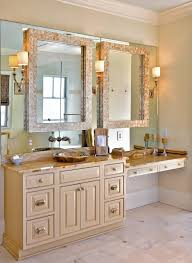 Bathroom Mirror Decorating Ideas Mirror On Mirror Decorating For Bathroom Extraordinary Decorative