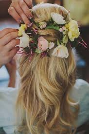 Flower Decorations For Hair 20 Wedding Hair Ideas With Flowers Flower Ideas Flowers And
