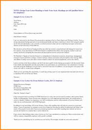 cover letter heading example images samples format header cool