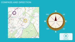 United States Map With Compass by Subject Knowledge Animation Map Skills Youtube