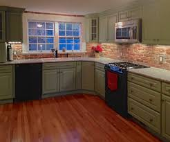 brick backsplash in kitchen reclaimed thin brick veneer thin brick veneer brick backsplash