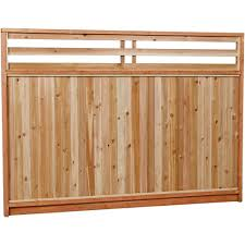 Replacing Wood Paneling by Wood Fence Panels Wood Fencing The Home Depot