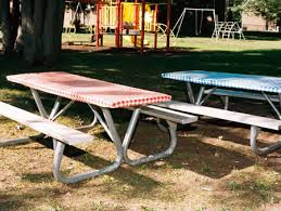 picnic table rentals aluminum picnic table rental iowa city cedar rapids party and