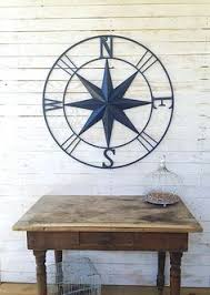 nautical wall decor metal compass wall by camillacotton