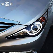 2011 hyundai sonata headlights for 11 12 hyundai sonata left right led halo projector
