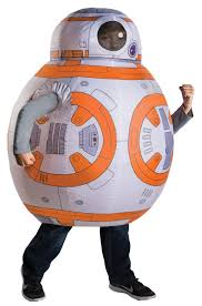 halloween blow ups clearance star wars the force awakens bb 8 inflatable child costume