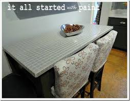 remodelaholic diy parson style counter height chairs
