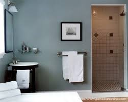 Bathroom Towel Decor Ideas by Bathroom Light Colored Bathroom Design With Blue Towel Hanging