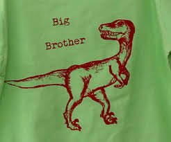 key lime green dinosaur tshirts big brother little brother set key lime green