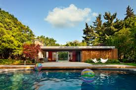 pool home a mid century pool house renovated by tongtong design milk