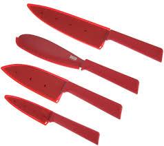 kuhn rikon everyday 4 piece knife set page 1 u2014 qvc com