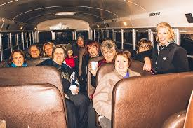 holiday lights tour detroit the detroit bus company s merry and bright holiday lights tour at