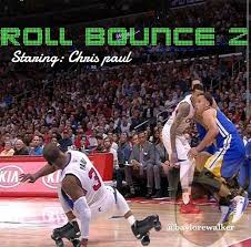 Chris Paul Memes - blacktwitter roasts chris paul after steph curry destroys his ankles