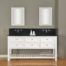 Double Bathroom Sink Cabinets 70